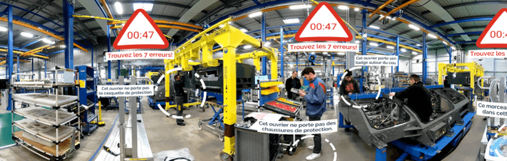 Immersive learning hard skill industrie