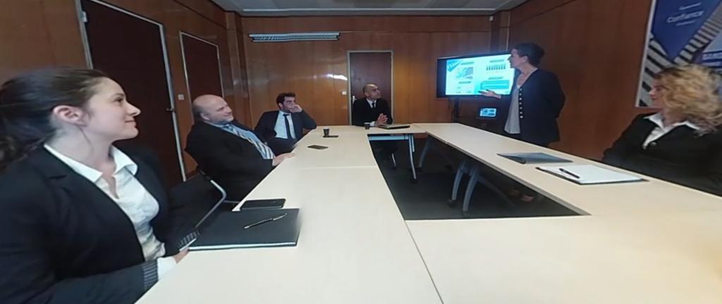 Grenoble Ecole Management Realite Virtuelle